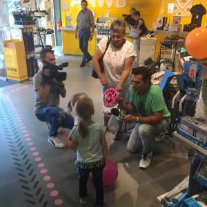 Wij Pinnen voor U - winkelcentrum actie boeken