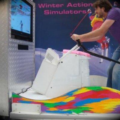 Foto van Simulatoren deal  - Voetbal Simulator - Jetski Simulator - Motor Race Simulator | JB Productions