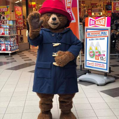Meet and Greet Beertje Paddington inhuren