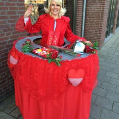 Fotoalbum van Walking Table - Valentijn | Attractiepret.nl