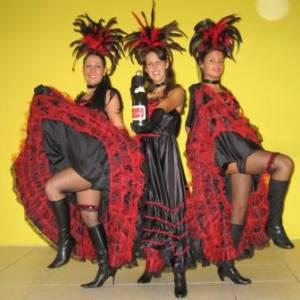 Los del Sol - CanCan & Moulin Rouge Show inzetten?