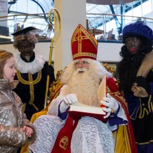 Sinterklaas voor winkelcentra inhuren