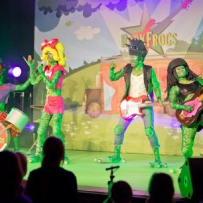 Foto van RockFrogs - Rockconcert | Artiestenbureau JB Productions