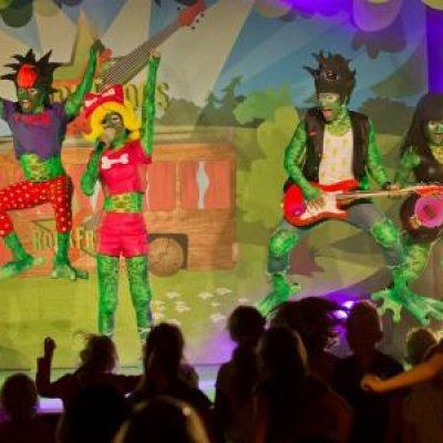 Fotoalbum van RockFrogs - Rockconcert | Kindershows.nl
