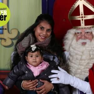 Sinterklaas gaat op de foto