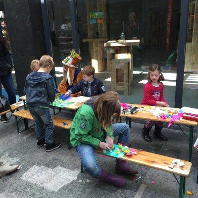 Fotoalbum van Kids Workshop Eierdop Versieren | Attractiepret.nl
