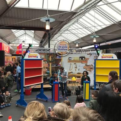 Fotoalbum van Buurman & Buurman - De Grote Klusshow | Kindershows.nl