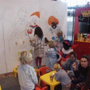 Kunst 4 Kids in Sinterklaas stijl boeken of inhuren?