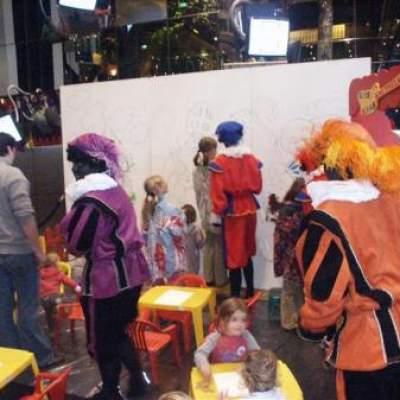 Foto van Kunst 4 Kids in Sinterklaas stijl | Attractiepret.nl
