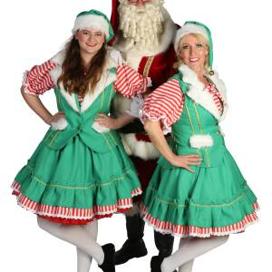 Kerstman en 2 Kerstvrouwtjes Boeken