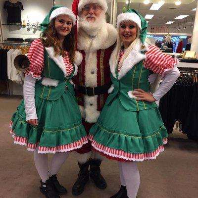 Foto van Bezoek Kerstman en 2 Kerstvrouwtjes | SintenKerst