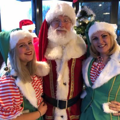 Fotoalbum van Bezoek Kerstman en 2 Kerstvrouwtjes | Attractiepret.nl