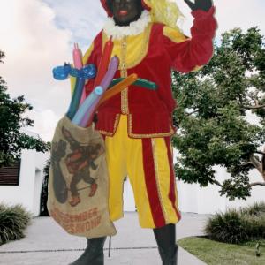 Ballonnen Piet voor Sinterklaasfeest