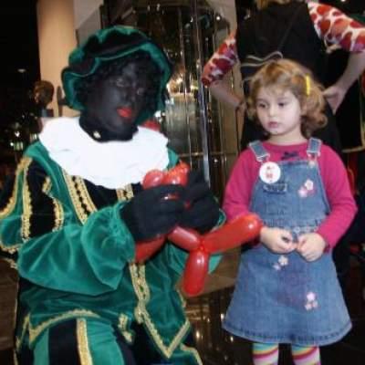 Foto van Ballonnen Moduleer Zwarte Piet | Sint en Kerst