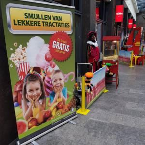 Zwarte Pieten Popcornstand boeken of inhuren?