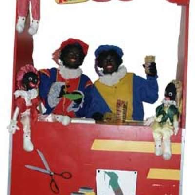 Fotoalbum van Zwarte Pieten Attractie Terras | Sinterklaasshow.nl