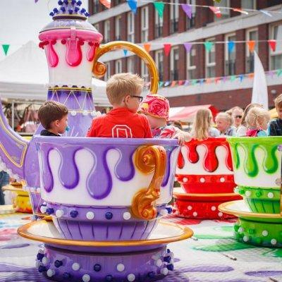 Fotoalbum van Draaimolen - Teacups | Kindershows.nl