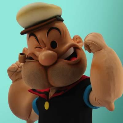 Fotoalbum van Op de Foto met Popeye | Looppop.nl