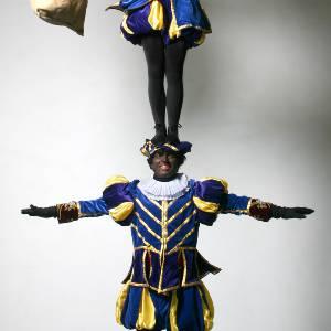 Acrobaat Zwarte Pieten inhuren?