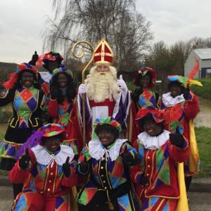 Sinterklaas bestellen met Pieten