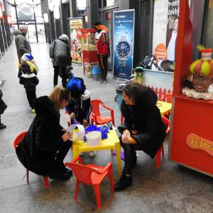 Workshop - Zwarte Pieten Baretten maken inzetten?