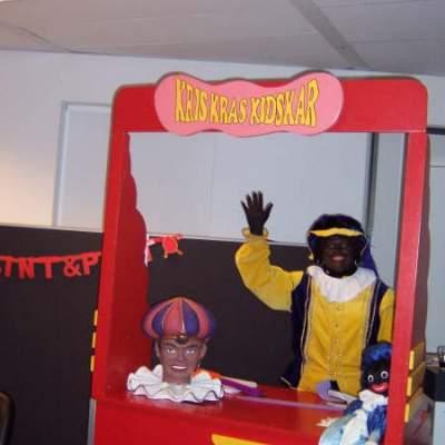 Kids Workshop - Zwarte Pieten Baretten maken inhuren?