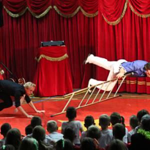 Circus Meerfout - Kindervoorstelling boeken?