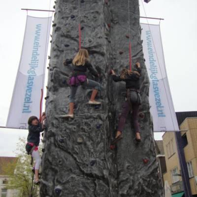 Foto van Mobiele Klimmuur  - 4 personen | Kindershows.nl