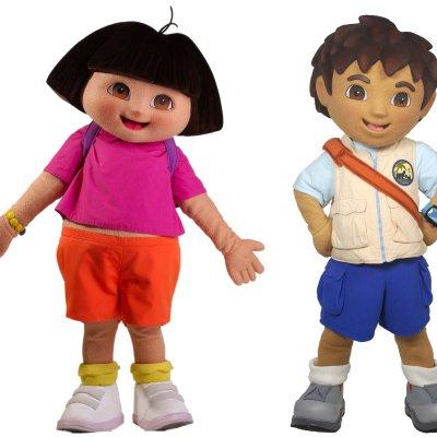 Dora & Diego - Minishow boeken?