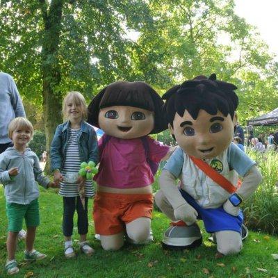 Foto van Dora & Diego - Minishow | Kindershows.nl