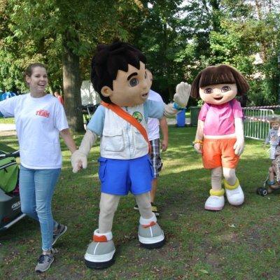 Dora & Diego - Minishow boeken of inhuren?