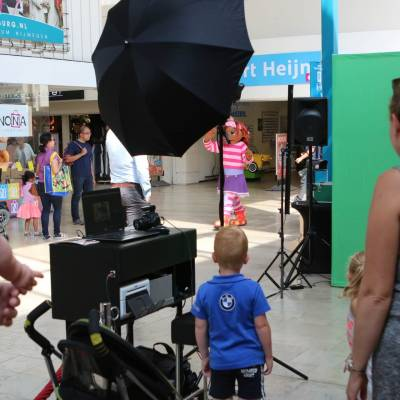 Foto van Op de foto met - Het Zandkasteel - Greenscreen | Looppop.nl