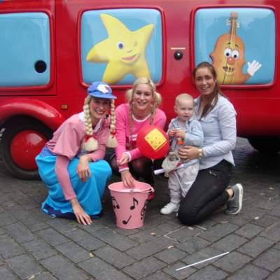 Foto van Meet & Greet met Beep de Bus en Jill | Kindershows.nl