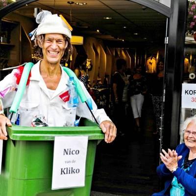 Nico van de Kliko inhuren?