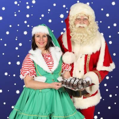 Zoen van de Kerstman en Kerstvrouwtje Boeken