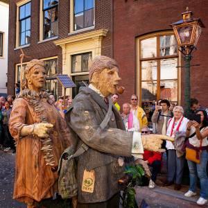Duo Hout en Hout - Mobiele Theateract huren