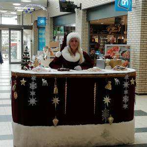 Miss Mable Kerst Table inzetten?