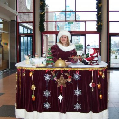Foto van Miss Mable Table - Kerst | Artiestenbureau SintenKerst.nl