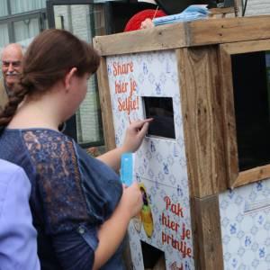 Hollandse Selfie Bakfiets op je feest