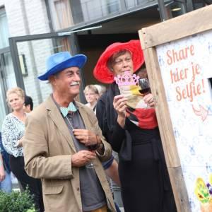 Hollandse Selfie Bakfiets huren voor opendag