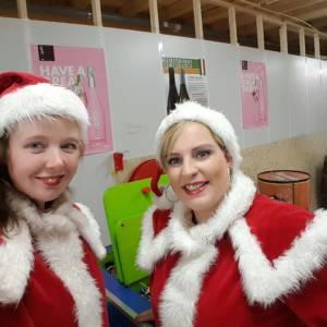 kerstvrouwtjes inhuren