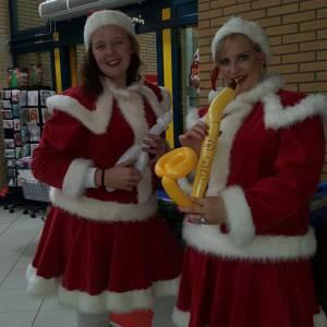 kerstvrouwtjes boeken voor een event
