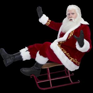 Santa Claus boeken of inhuren?