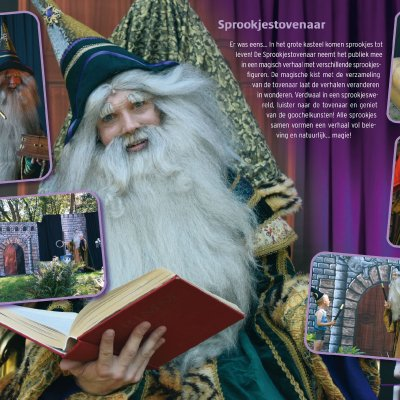 Foto van Sprookjes Tovenaar | Kindershows.nl