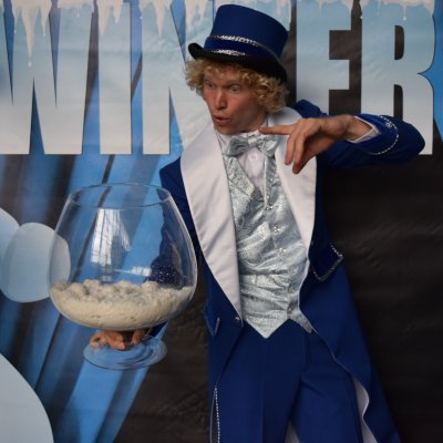 Fotoalbum van Magische Wintershow | Kindershows.nl