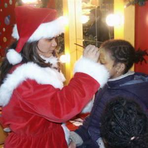 Schminkstand Kerst inzetten?