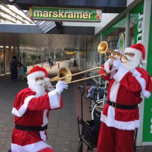 Swinging Dixieband - Kerstmannen inhuren?