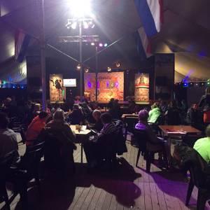 Bingo tijdens Hollandse avond