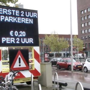 Lucky Parkeerspot - Winkelcentrum Actie inzetten?