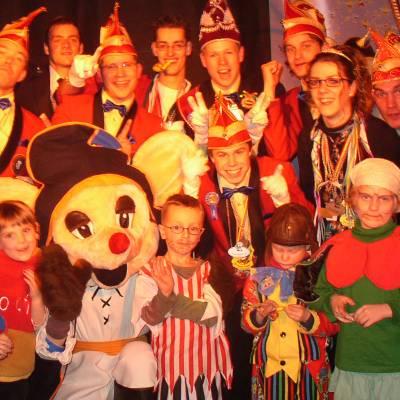 Foto van Maarten en Empi vieren Carnaval | Kindershows.nl